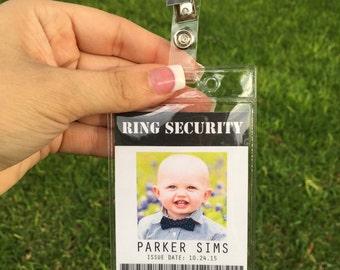 Ring Bearer Gift Badge