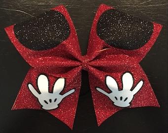 Mickey Cheer Bow