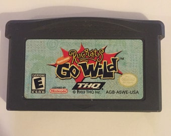 RUGRATS: GO WILD by Nintnedo for Gameboy Advance