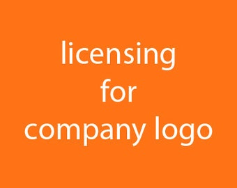 Licensing for company logo