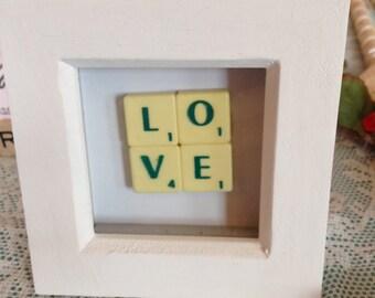 Love small scrabble frame