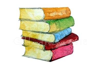 Books Library Nursery  Printable Images Teachers School ClipArt