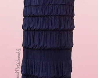 "The ""Baylee"" Skirt (Long Bubble Ruffled Maxi Skirt) 9 solid colors available"