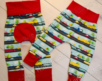 Traffic Fun Harem Pants Ready to Ship