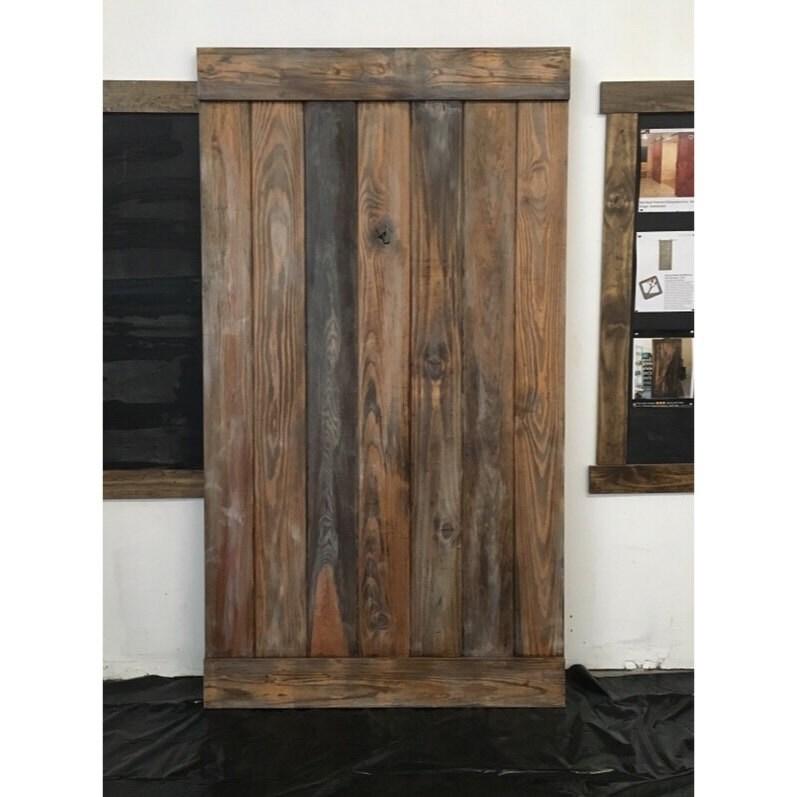 Vertical Plank Design Sliding Barn Door
