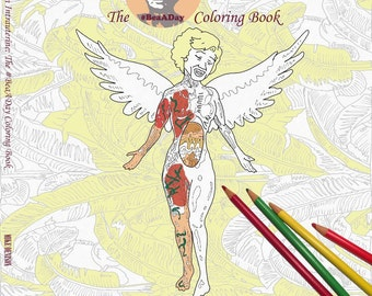 The Mike Denison Bea A Day adult coloring book