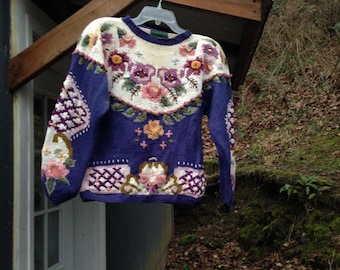 Vintage Women's Chunky Sweater