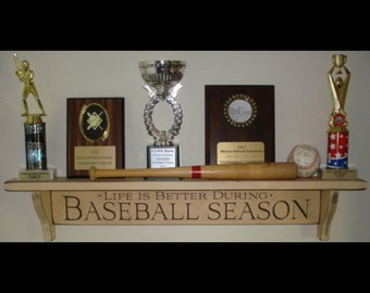 Baseball GiftBaseball ShelfBaseball Trophy DecorBaseball Gifts