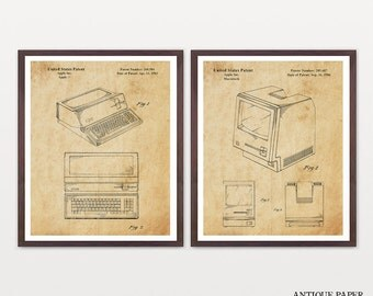 Apple Computer Patent - Computer Patent - Computer Art - Steve Jobs - Steve Jobs Patent - Mac - Apple Poster - Computer Poster - Macintosh