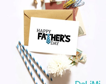 Father's Day Card - Cute Father's Day Card - Greeting Card!