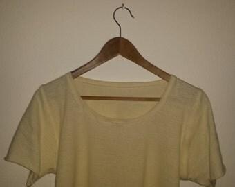 Off White Hemp T-shirt
