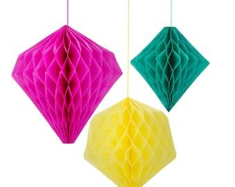 Decadent Decs Fiesta Fun Trendy colors Honeycombs