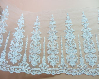 retro lace trim,white wedding lace ribbon ,embroidery trimming,Beautiful vintage netting lace trim