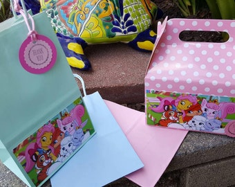 Whisker Haven Tales Favor Boxes or favor bags