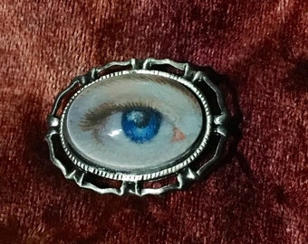 All Seeing Eye Brooch