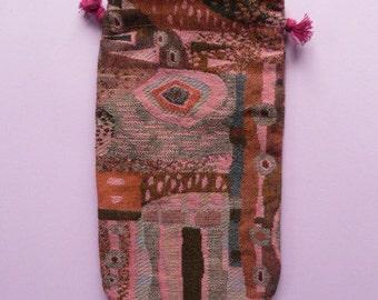 Handcraft Case for HARP/LYRE Protecting Music Instruments  *Cotton Fleece Handmade case*