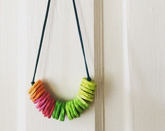 Chunky Clay Necklace