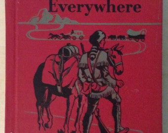 Vintage Roads to Everywhere Reader hard cover