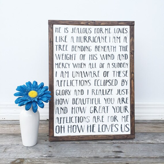 Oh how he loves you and me lyrics