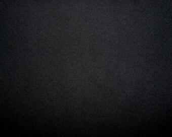 Fabric - cotton rib fabric - Black