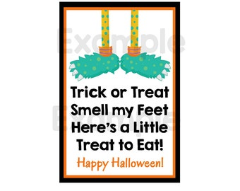 Halloween Stickers-Halloween Gift Tags-Personalized Halloween Stickers-Personalized Halloween Gift Tags