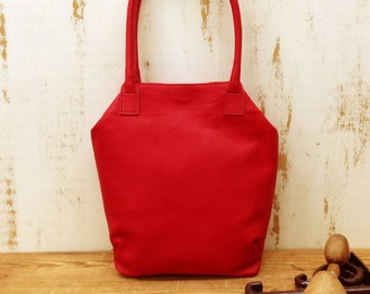 WOMEN'S GIFT!!! Red leather purse, crossbody Leather handbag, leather bag, Handmade gift for girlfriend, Gift for wife, Womens gift
