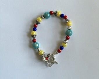 Snow White inspired bracelet