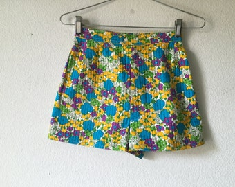 Vintage Shorts - Saint Laurent Rive Gauche High Waisted