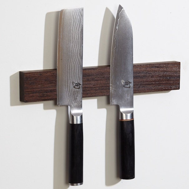 Diy Magnetic Knife Strip: Magnetic Knife Holders Or Magnetic Knife Stips By MOCWoodworks