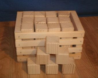 Baby blocks etsy for Child craft wooden blocks