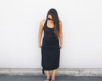 Aquilla Maxi Dress // Black