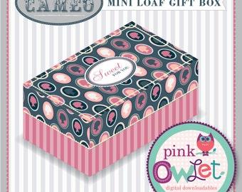 Victorian Cameo Mini-Loaf Box