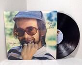 Elton John vintage vinyl record - Rock Of The Westies LP album || 70's Rock