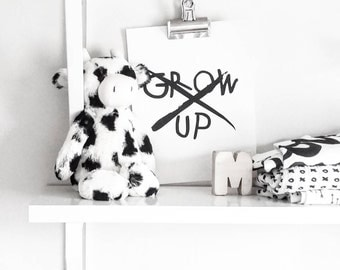 Quote Print - Don't Grow Up