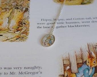 Beatrix Potter Character Necklace