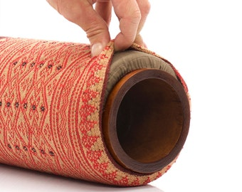 """5"""" Classic Lanna Roller Natural Massage Roller with Naga Cover"""
