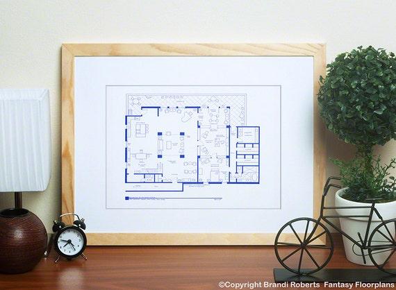plan appartement richard castle