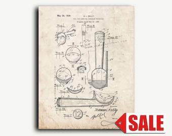 Patent Art - Ice Cream Scoop Patent Wall Art Print