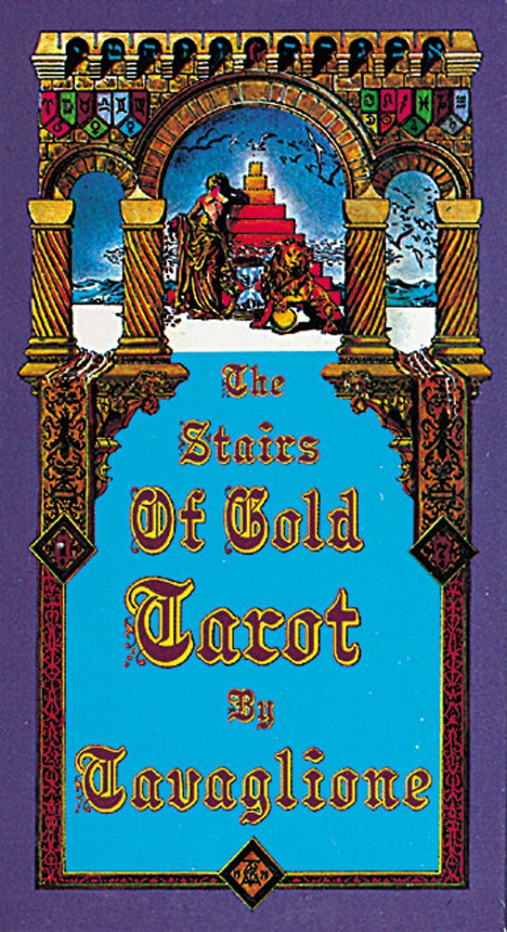 The Stairs Of Gold Tarot By Tavaglione