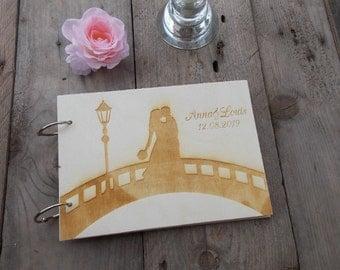 Wedding guest book bridge wedding / wedding / guest book/album