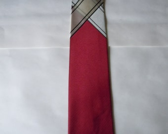 Deadstock Unworn 1950s Satin Rayon Rockabilly Tie