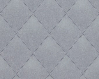 Modern Padded Textile Wallpaper R4090
