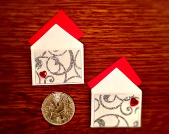 One of a kind mini Valentines! (8/pkg)