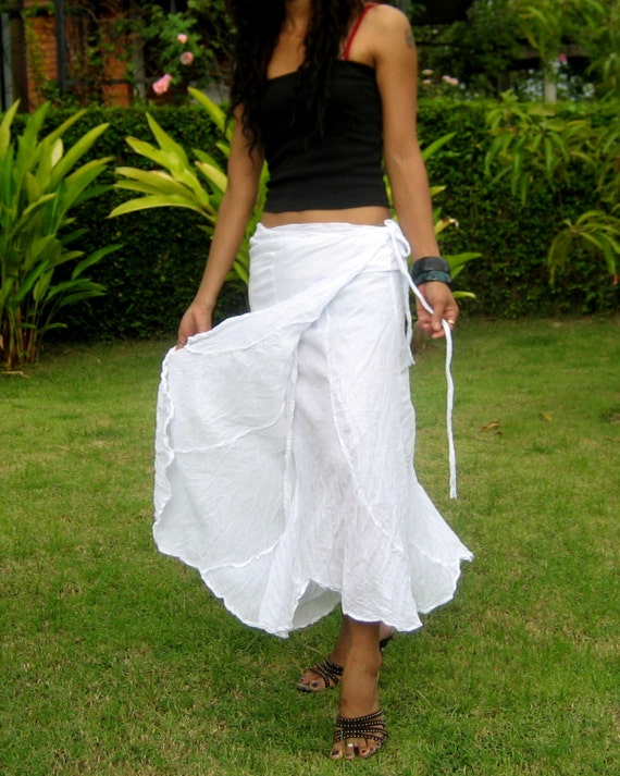 wrap around skirt skirts for flamenco by billysthaishop