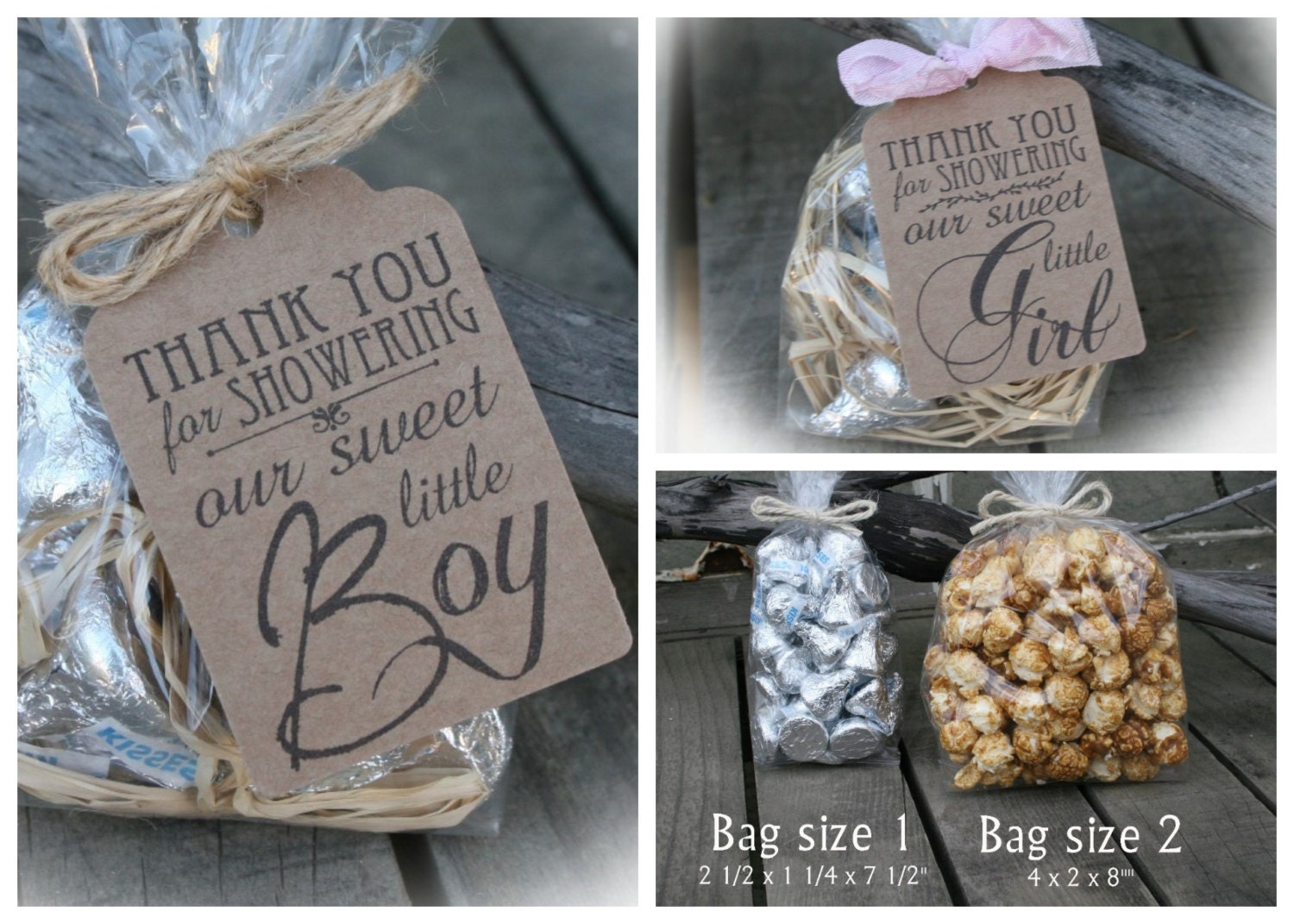 sweet baby favors baby shower favors 10 90 diy bags favor