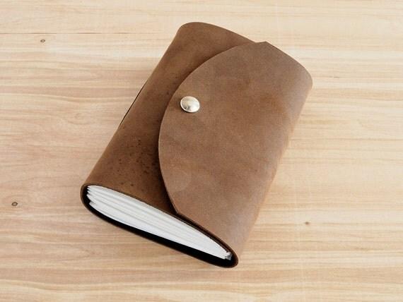 Freemont - 4X6 Light Brown, Handmade Leather Journal