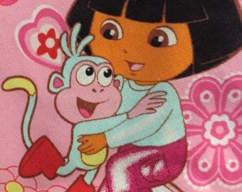 Dora the Explorer Crib Sheet, Dora La Exploradora Crib Sheet, Fitted Crib Sheet