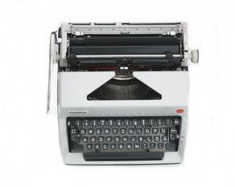 "Vintage Mechanical Typewriter ""Olympia"""