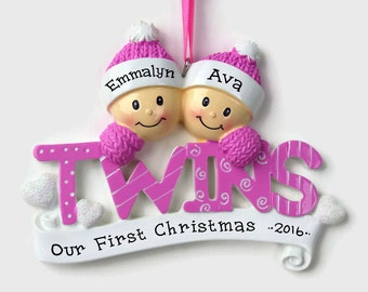 Twin ornament | Etsy