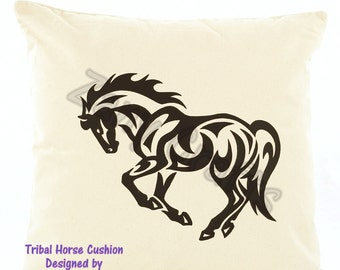 Exclusive Tribal Horse Design Cushion Cover